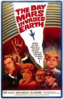 """The Day Mars Invaded Earth by Henri Silberman - 11"""" x 17"""""""