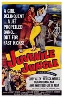 """Juvenile Jungle by Henri Silberman - 11"""" x 17"""""""