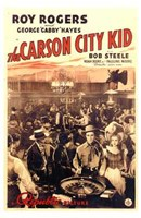 "The Carson City Kid by Henri Silberman - 11"" x 17"""