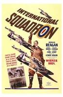 """International Squadron by Henri Silberman - 11"""" x 17"""""""