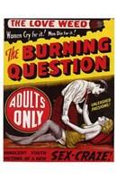 "The Burning Question by Henri Silberman - 11"" x 17"""