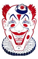 Clown Face Wall Poster