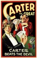 "Carter Beats the Devil by Henri Silberman - 11"" x 17"""