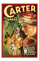 "Carter the Great by Henri Silberman - 11"" x 17"""