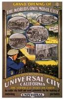 "Universal City California by Henri Silberman - 11"" x 17"""