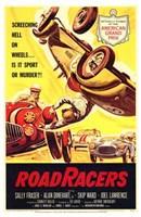 """Road Racers Vintage Advertisement by Henri Silberman - 11"""" x 17"""""""