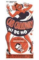 "Hi-De-Ho by Henri Silberman - 11"" x 17"""