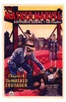 "The Masked Marvel by Henri Silberman - 11"" x 17"""