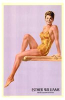 "Esther Williams by Henri Silberman - 11"" x 17"""