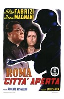 "Roma Citt Aperta by Henri Silberman - 11"" x 17"""