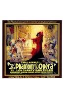 "The Phantom of the Opera Square by Henri Silberman - 11"" x 17"""