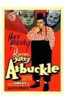 """Fatty Arbuckle by Henri Silberman - 11"""" x 17"""""""