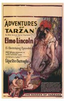 The Adventures of Tarzan, c.1921 - style A Wall Poster