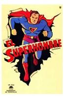 """Superman Vintage by Henri Silberman - 11"""" x 17"""""""