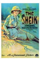 "11"" x 17"" The Sheik"