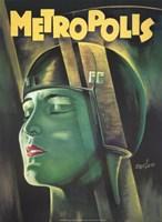 """Metropolis Green - 11"""" x 17"""""""