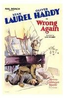 Wrong Again Wall Poster
