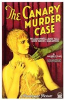 "The Canary Murder Case With William Powell - 11"" x 17"" - $15.49"