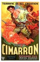 "Cimarron With Richard Dix - 11"" x 17"", FulcrumGallery.com brand"