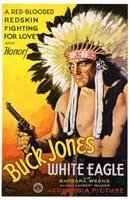 "White Eagle With Buck Jones - 11"" x 17"""
