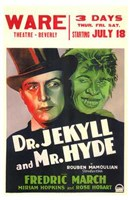 """Dr Jekyll and Mr Hyde Theatre - 11"""" x 17"""" - $15.49"""