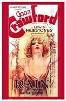 """Rain With Joan Crawford - 11"""" x 17"""""""