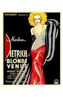 Blonde Venus - woman posed Wall Poster