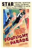 """Footlight Parade - 11"""" x 17"""""""
