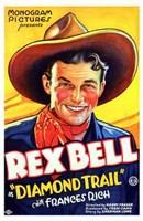 "Diamond Trail - 11"" x 17"""