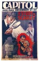 "A Study in Scarlet - 11"" x 17"""