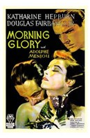 Morning Glory Wall Poster