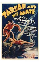 Tarzan and His Mate, c.1934 - style A Wall Poster