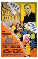 """Hail Hal Roach - 11"""" x 17"""""""