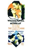 "The Thin Man - tall - 11"" x 17"""