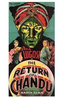 """The Return of Chandu - tall - 11"""" x 17"""""""