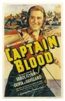 "Captain Blood Errol Flynn - 11"" x 17"""