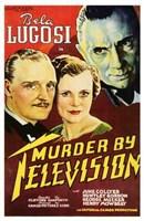 "Murder By Television - 11"" x 17"", FulcrumGallery.com brand"
