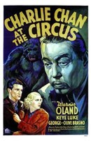 """Charlie Chan At the Circus - 11"""" x 17"""""""