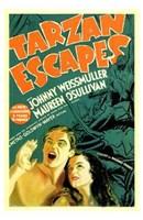 """Tarzan Escapes, 1936, 1936 - 11"""" x 17"""""""