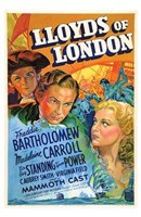 "Lloyds of London Bartholomew And Carroll - 11"" x 17"", FulcrumGallery.com brand"