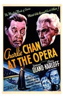 "Charlie Chan At the Opera Oland And Karloff - 11"" x 17"""