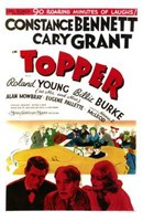 Topper - Cary Grant Wall Poster