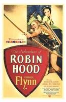 "The Adventures of Robin Hood Shooting Arrow - 11"" x 17"""