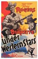 """Under Western Stars movie poster - 11"""" x 17"""""""