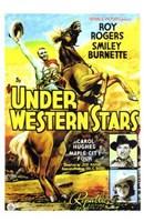 """Under Western Stars - 11"""" x 17"""""""