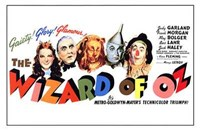 "The Wizard of Oz Horizontal - 17"" x 11"""