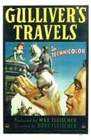 """Gulliver's Travels - 11"""" x 17"""""""