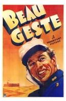 Beau Geste Wall Poster