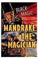 "Mandrake the Magician - 11"" x 17"""