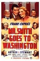 """Mr Smith Goes to Washington With Frank Capra - 11"""" x 17"""""""